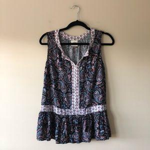 Knox Rose printed sleeveless top